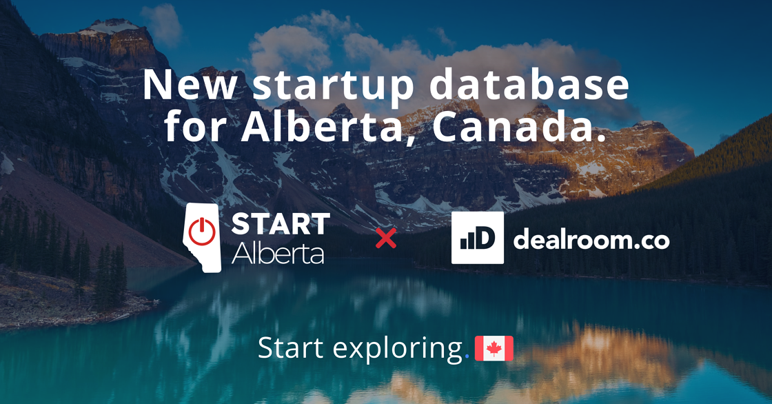 New startup database for Alberta, Canada