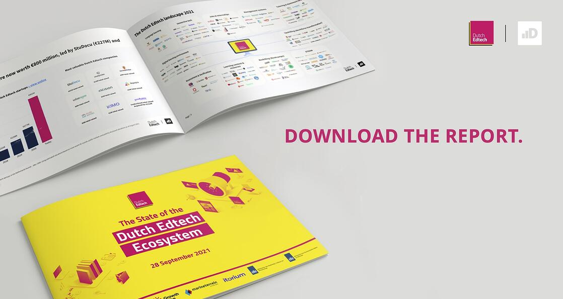 Download the report: The State of the Dutch Edtech Ecosystem