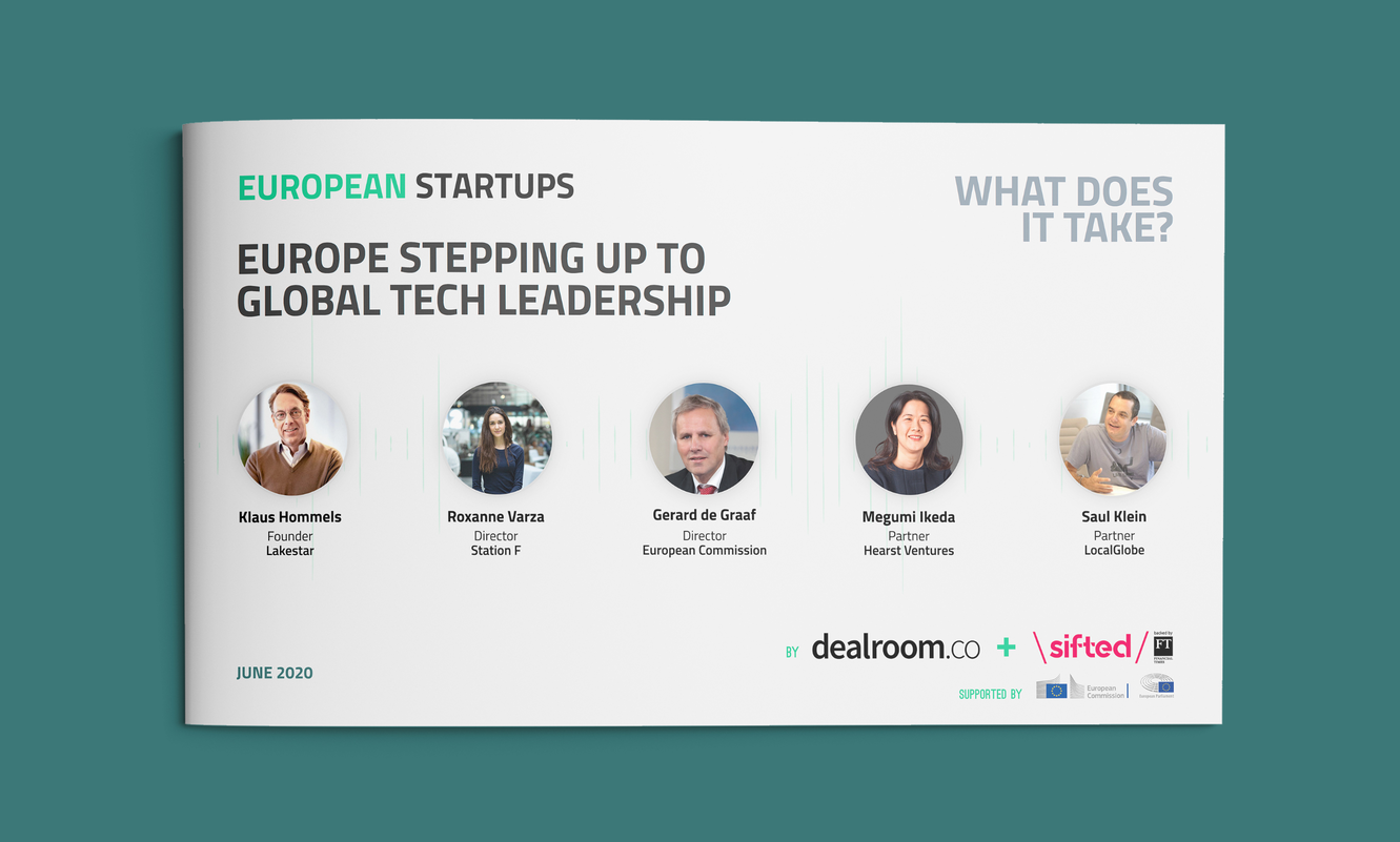 Report - Europe stepping up to global tech leadership