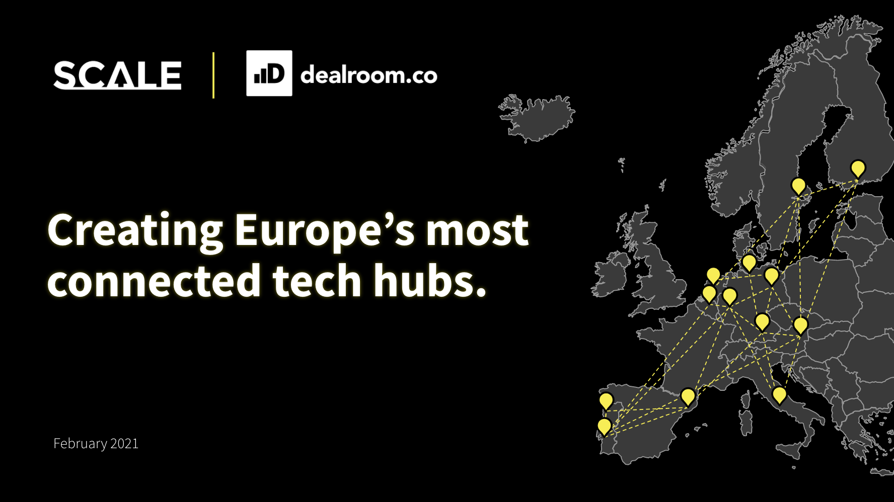 Creating Europe's most connected tech hubs - Scale Cities Alliance report